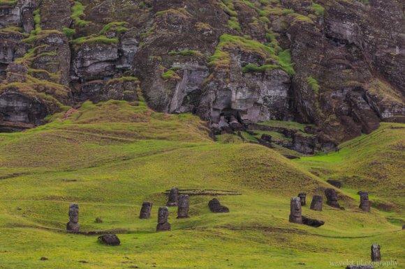 Rano Raraku (quarry), Easter Island