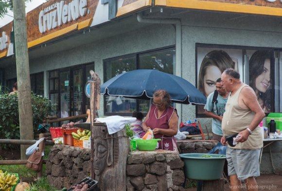 Hanga Roa's market, Easter Island
