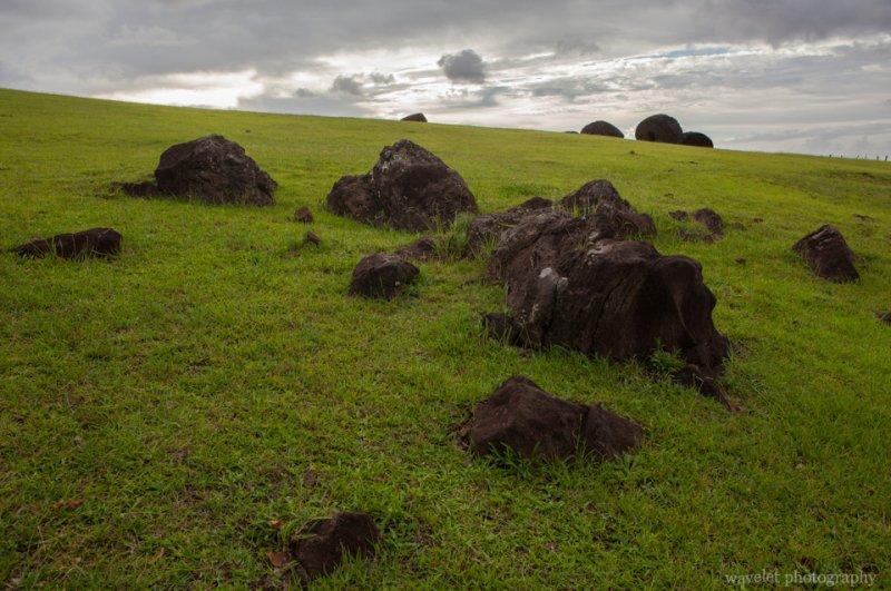 Puna Pau, Easter Island