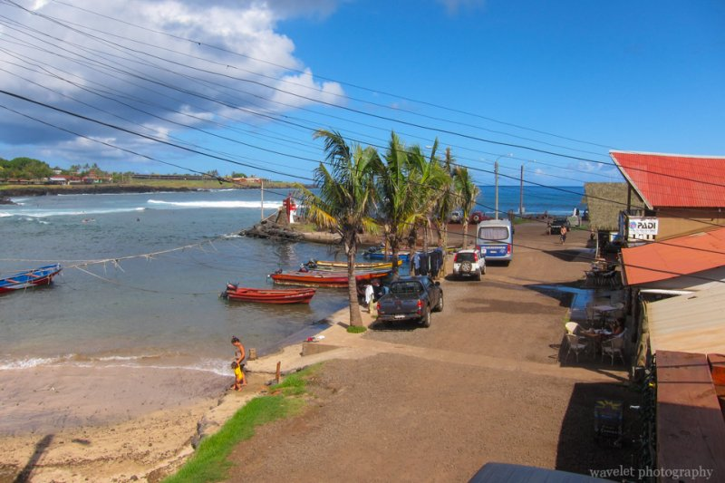 North harbor, Easter Island