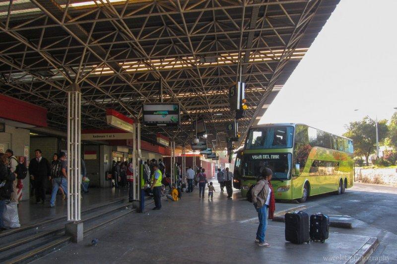 Pajaritos bus station, Santiago