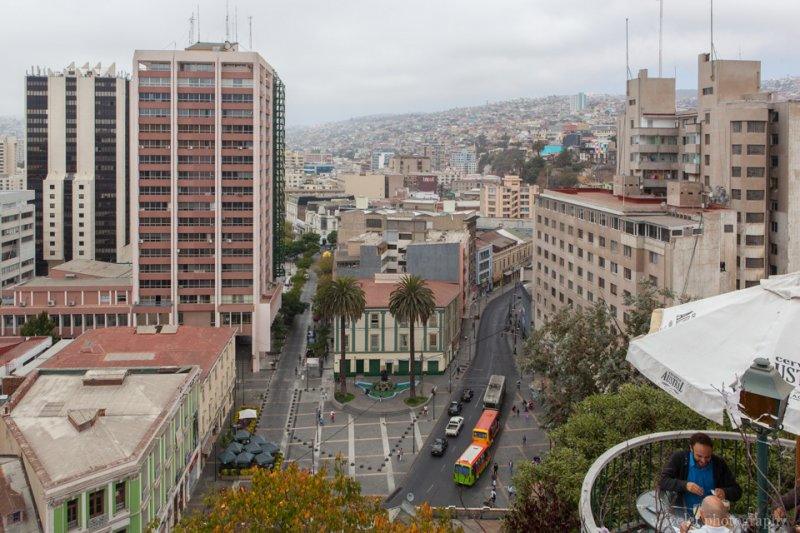 Overlook Anibal Pinto Square, Valparaiso