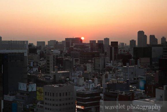 Sunrise in Ginza