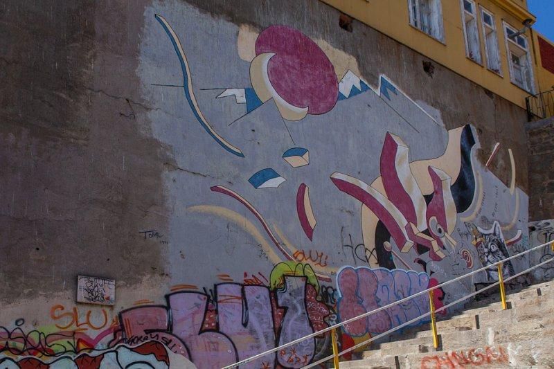 By Mario Toral, Museo a Cielo Abierto, Valparaiso