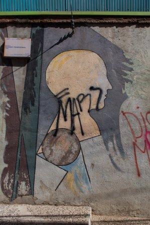 By Ricardo Yrarrázaval, Museo a Cielo Abierto, Valparaiso
