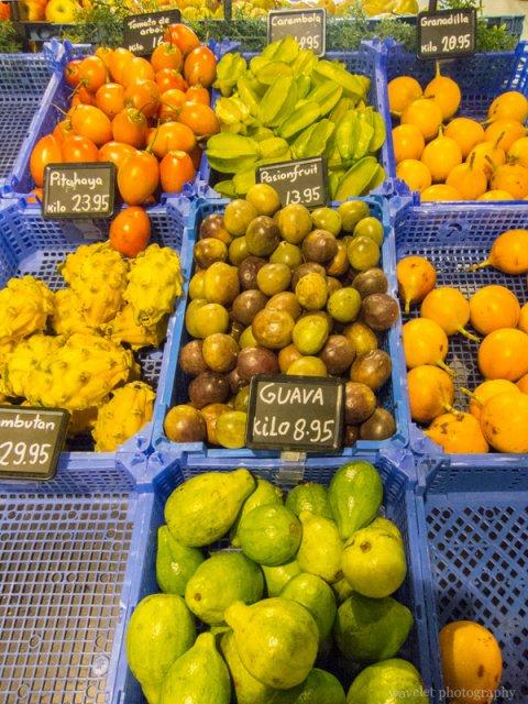 Fruits in super market, Aruba
