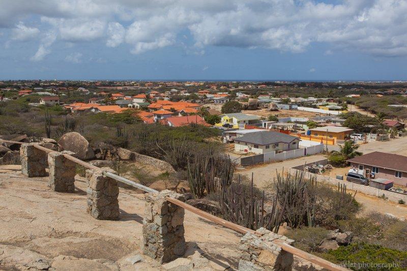 Overlook Aruba from Casibari Rock Formations