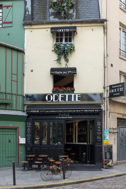 A restaurant near Rue Galande, Latin Quarter, Paris