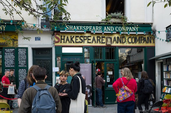 Shakespeare & Company, Latin Quarter, Paris