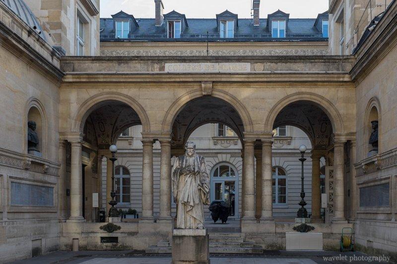 Collège de France, Latin Quarter, Paris