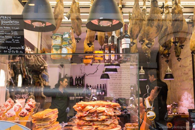 A butcher store near Marché Saint-Germain, Paris