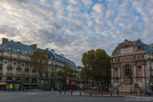 Place Saint-Michel, Latin Quarter, Paris