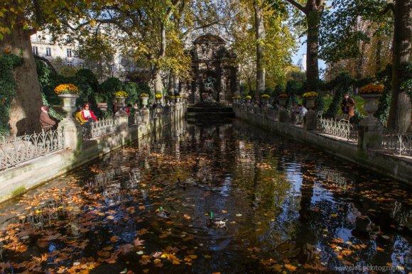 La fontaine Médicis in Jardin du Luxembourg, Paris