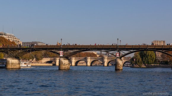 Pont des Arts and Pont Neuf, Paris