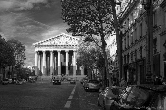 Rue Royale and L'église de la Madeleine, Paris