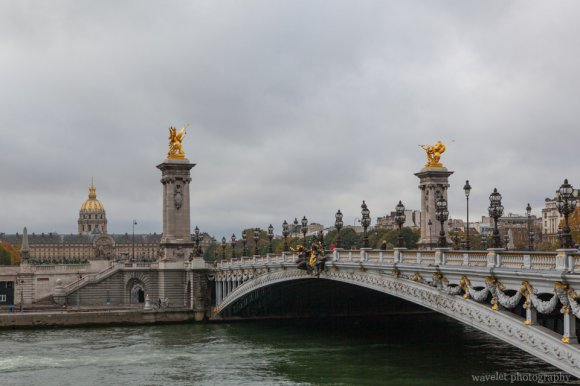 Pont Alexandre III and Les Invalides, Paris