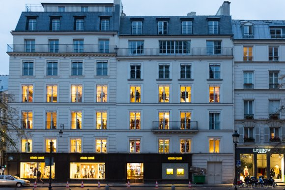 Shops near Place Maurice Barrès, Paris