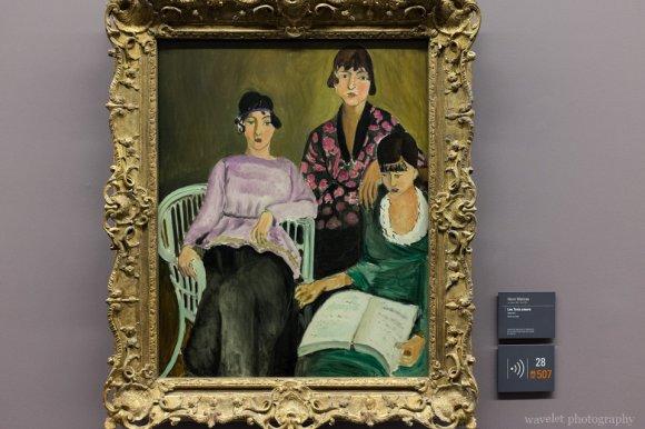 A painting by Henri Matisse, Musée de l'Orangerie, Paris