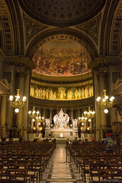 Interior of the Église de la Madeleine, Paris