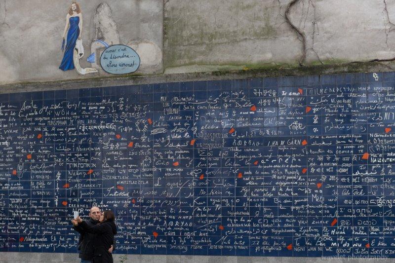 Le mur des je t'aime -  - 'I Love You' wall, Montmartre, Paris