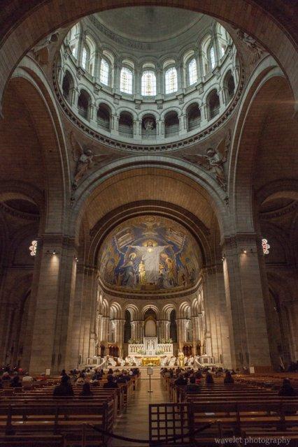 The main dome, Sacré-Cœur, Paris