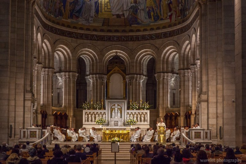 The Chancel, Sacré-Cœur, Paris