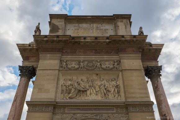 The Arc de Triomphe du Carrousel, Paris