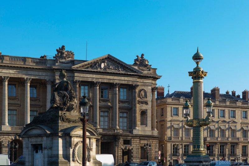 Hôtel de la Marine and Statue of Lille, Place de la Concorde, Paris