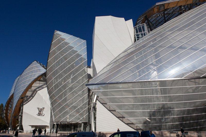 Louis Vuitton Foundation designed by Frank Gehry, Paris