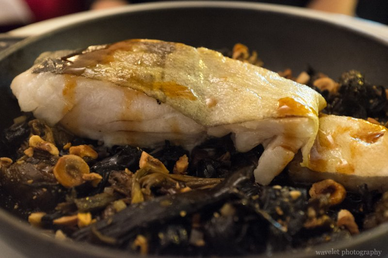 Roasted Cod, Chez Monsieur, Paris
