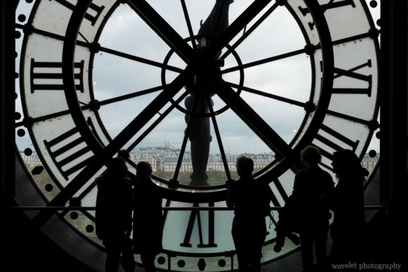 The clock of the Musée d'Orsay, Paris