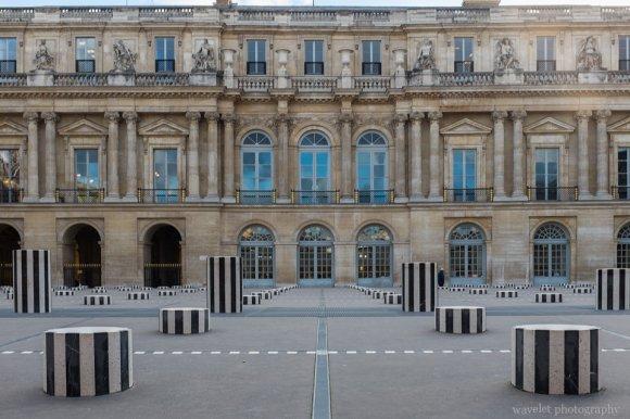 Cour d'Honneur in Palais Royal, Paris
