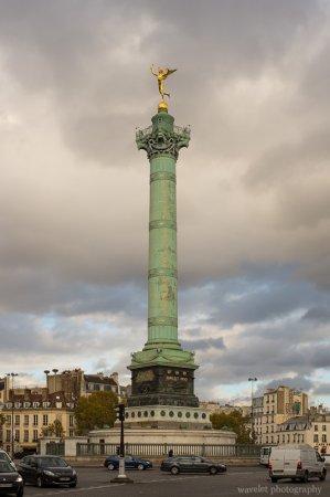 Colonne de Juillet (July Column) at the Place de la Bastille, Paris