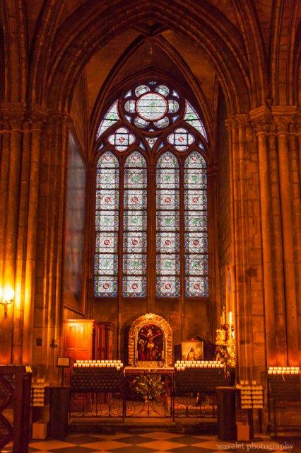 A chapel of Notre-Dame, Paris