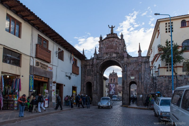 Arco Santa Clara, Cusco