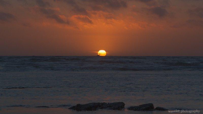 Sunset on Moss Beach