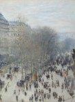 Boulevard des Capucines, Claude Monet, 1873-74
