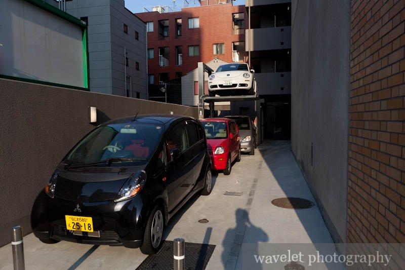 Cars in Stack