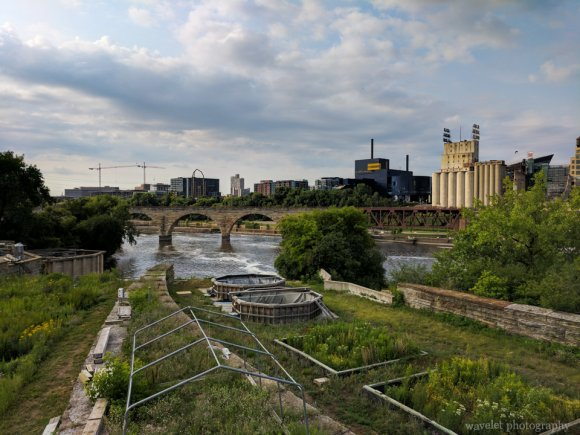 Stone Arch Bridge and the Water Power Park, Minneapolis