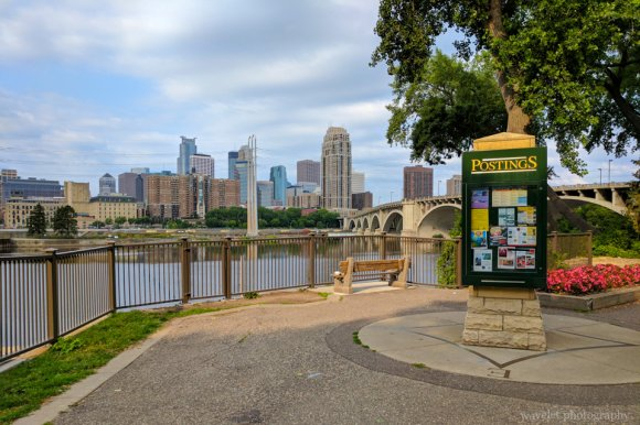The Mississippi River, Minneapolis