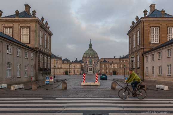 Amalienborg and Frederik's Church, Copenhagen