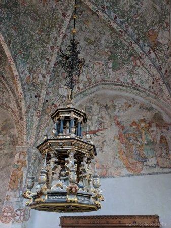 Paintings in the Tradesmen's Chapel (Krämarekapellet) at St. Peter's Church, Malmö