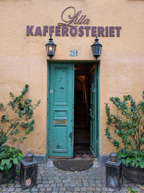 A cafe, Malmö
