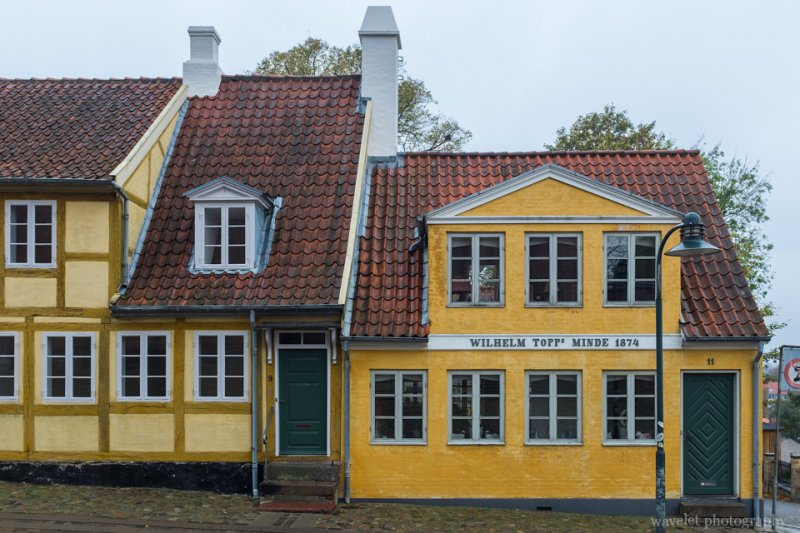 House near Roskilde Cathedral, Rosklide