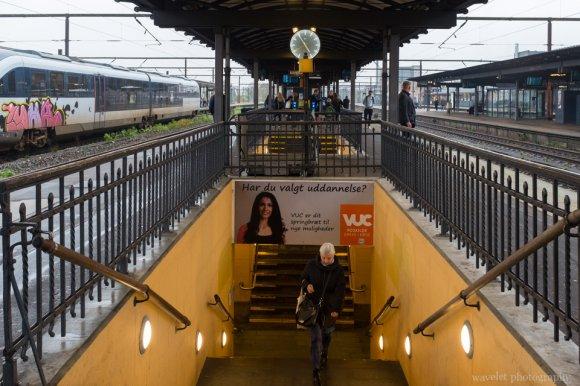 Railway station, Roskilde