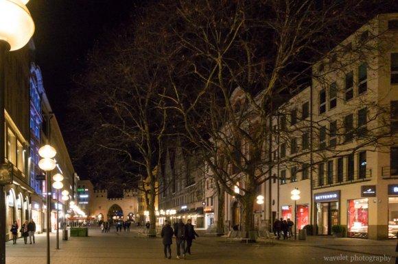 Neuhauser St., Inner City of Munich, Germany