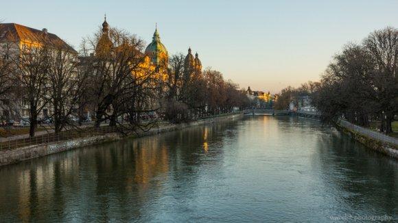 Isar River, Munich, Germany