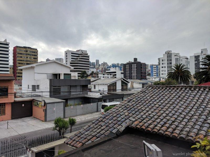 Quito street near Hotel Casa Q