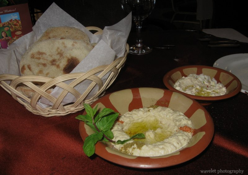 Bread at Citadel View Restaurant in Al-Azhar Park