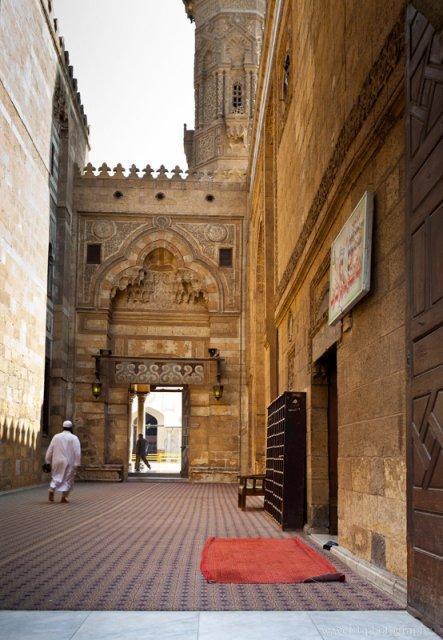 Entrance of Mosque of al-Azhar